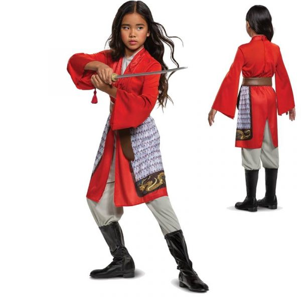Mulan Hero Red Jumpsuit