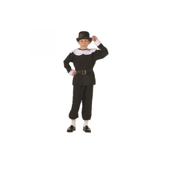 Pilgrim Boy Costume Thanksgiving Play