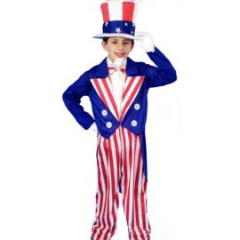 Patriotic: Fourth of July, Labor Day, Memorial Day, & Veteran's Day Children's Costumes