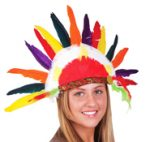 Indian Headdress promo feather