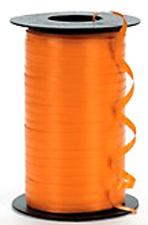 Topical Orange Curling Ribbon