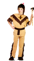 Indian Brave Childs Costume