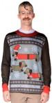 Weiner Wonderland Ugly Sweater T-Shirt w/Dachshunds