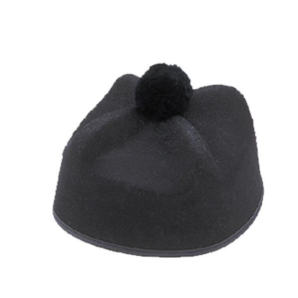 98977200f37 Priest Hat - Black Perma Felt - Cappel s