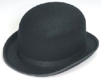 Black Permalux Derby Hat