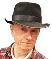 Black Permalux Fedora Hat