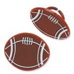 Party Plastic Football Rings - Dozen