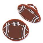 Party Plastic Football Rings - Dozen