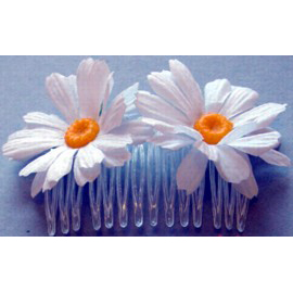 Flower Hair Combs, Assorted Styles