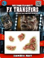 Zombie Rot FX Tranfers Apply with Water Latex Free