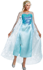 Elsa Costume Dress for Disney Frozen Movie Character