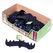 """10"""" Black Rubber Flying Bat"""