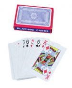 Blue Promo Deck of Playing Cards