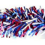 "Red/White/Blue Decoration Garland, 4"" x 15'"
