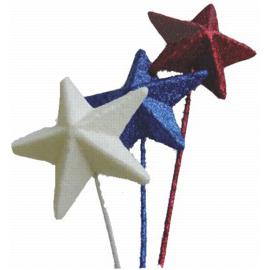 Glitter Stars, Hearts, & Balls & Isolepsis