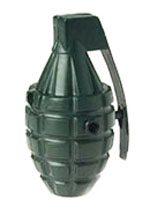 Plastic Toy Grenade - 4 Inch
