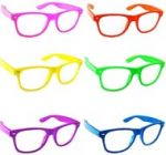 Glow in the dark Wayfarer eyeglasses