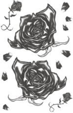 Black Roses Tattoo