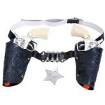 Kids western gun and holster set