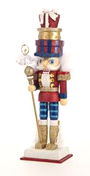 Hollywood Nutcracker: Traditional w/ Packages on Head