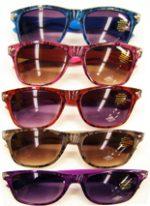 Lace Design Wayfarer Sunglasses