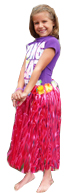 Childs Raffia Hula Skirt - Available in 4 colors