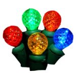 35 Count LED Light Set - Multi Color Spheres