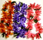 Buttercup Blossom Lei - Orange Flame, Purple, or Hot Pink