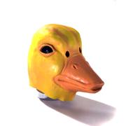 Duck Mask - Yellow and Orange