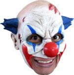 Clown Open Mouth Chinless Scary