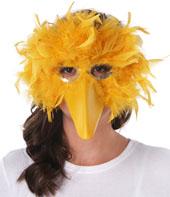 Costume Feathered Big Bird Mask