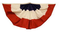 Red/White/Blue Bunting w/o Stars