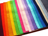 "Felt Squares - 9"" X 12"" - Assorted Colors"
