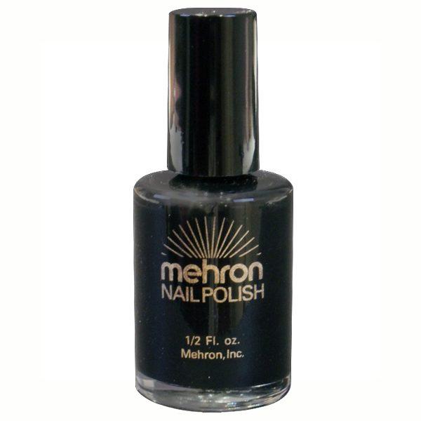Black or red nail polish
