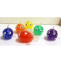 3 Inch Party Squishy Bead Fish One per package