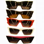 tapered lens sunglasses
