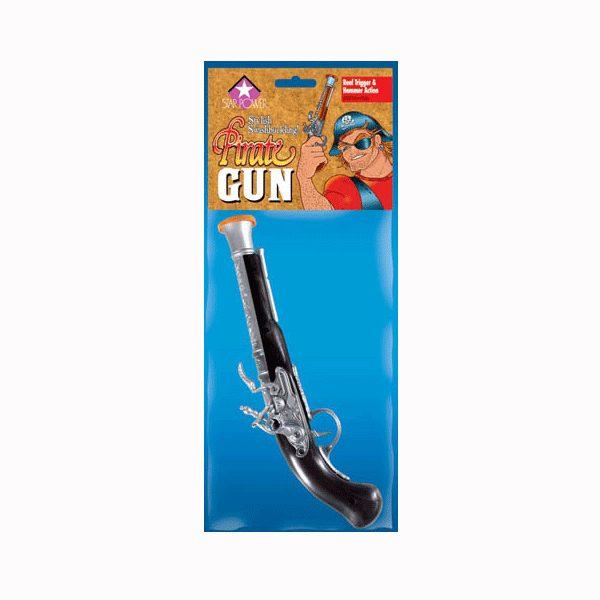 Plastic Pirate Gun Halloween Costume Accessory