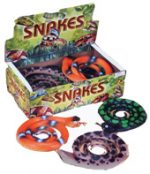 "36"" Deluxe Rubber Coiled Snake - Assorted"