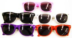 Solid Color Frame Wayfarer Sunglasses