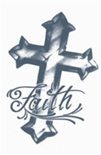 Faith Cross Tattoo