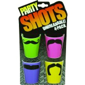 4 Piece Shot Glasses