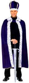 King's Robe & Crown Set - Available in 2 colors