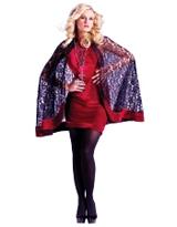 Velvet Lace Goth Capelet