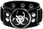 Biohazard Bracelet Leather like
