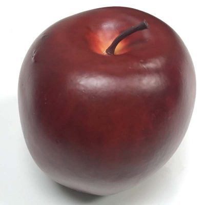 3 Inch Single Red Apple Fake Red Delicious