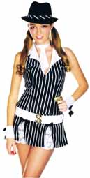 Gangsta Girl Teen Costume