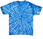 Tie-Dye Blue Spider T-Shirt