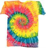 Tie-Dye Saturn Swirl T-Shirt