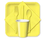 Mimosa Cups, Plates, Napkins, Tableware
