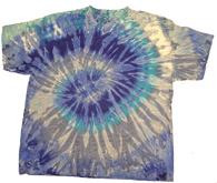 Tie-Dye T-Shirt, Mixed Blue